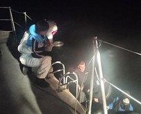 Muğla'da 14 sığınmacı kurtarıldı
