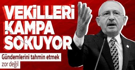 SON DAKİKA: CHP gelecek hafta sonu Abant'ta kampa girecek! Cumhurbaşkanı adaylığı ve HDP'nin talepleri görüşülecek