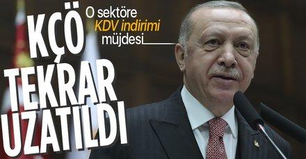 Erdoğan'dan flaş kısa çalışma ödeneği açıklaması