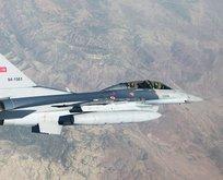 Irak'ın kuzeyine hava harekatı: Hedefler imha edildi!