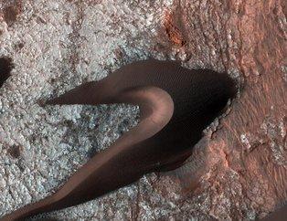 NASA ilk kez yayınladı! Dehşete düşüren ve kan donduran fotoğraflar (Mars'tan yeni fotoğraflar)