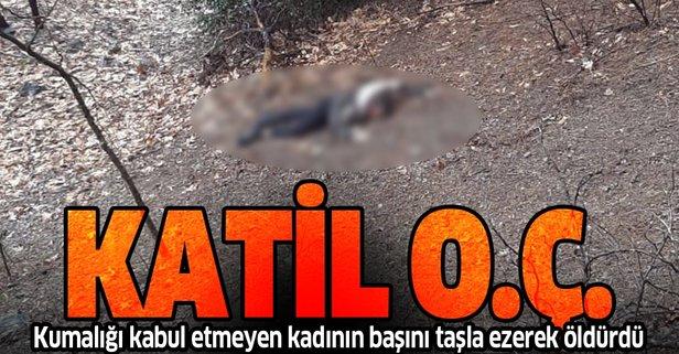 Adana'da vahşet! Başını taşla ezerek öldürdü