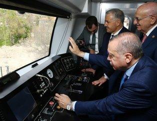 Cumhurbaşkanı Erdoğan, Başkentray Açılış Törenine katıldı