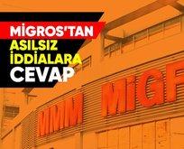 Migros'tan asılsız iddialara cevap