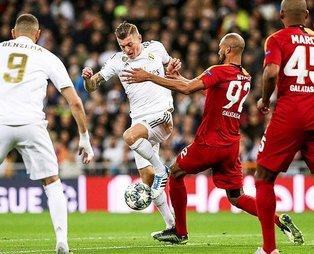 Cimbom Madrid'de dağıldı! Real Madrid 6-0 Galatasaray (Maç sonucu)