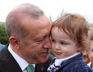 Bayburt'ta Erdoğan sevgisi