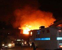 Şanlıurfada büyük yangın! 14 kişi hastaneye kaldırıldı