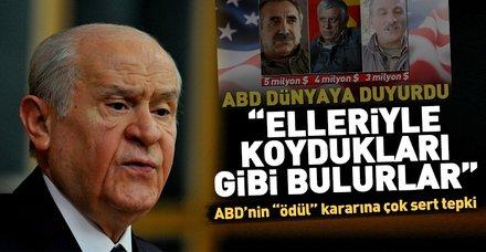 Son Dakika... ABD'nin PKK kararına Bahçeli'den sert tepki