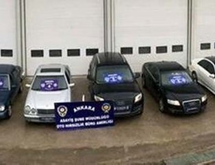 6 ilde çalıntı otomobil dolandırıcılarına 'Kermes' operasyonu: 7 gözaltı
