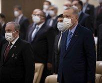 Başkan Erdoğan AYM üyesinin yemin törenine katıldı