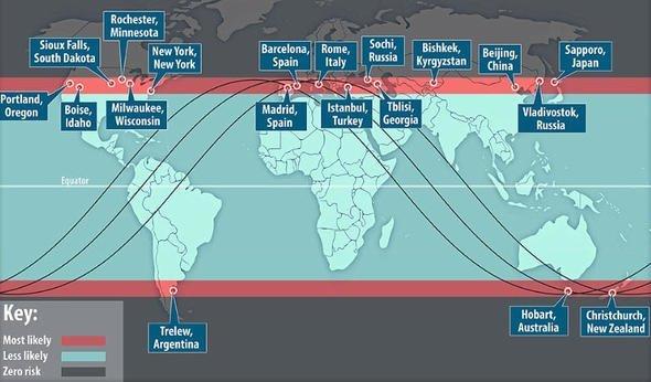 Çin açıkladı! Riskli bölgeler arasında Türkiye de var