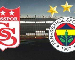 Sivasspor-Fenerbahçe maçının 11'leri belli oldu