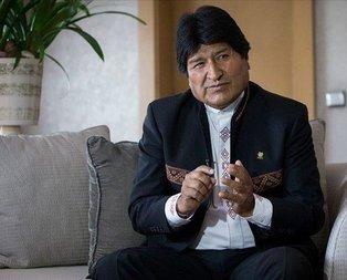 Evo Morales'ten darbe açıklaması