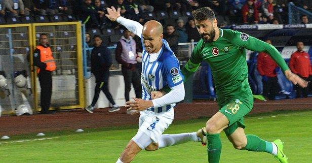 Erzurum'da nefes kesen maç