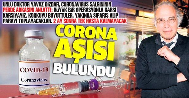 Corona aşısı bulundu