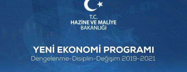 Hazine ve Maliye BakanI Berat Albayrak açıkladı! İşte 2019-2021 Yeni Ekonomi Programı (YEP)
