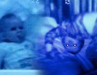 Bebeğinin odasına kamera koydu! İzleyince kanı dondu