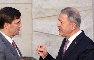 Bakan Hulusi Akar, ABD'li mevkidaşı ile görüştü