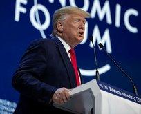 Davos'ta konuşan Trump yine Fed'e yüklendi