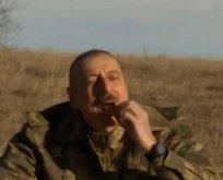Aliyev'den zafer çayı