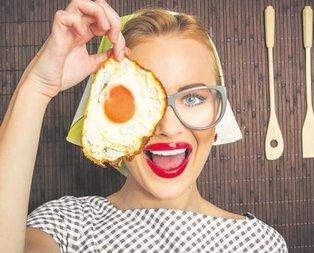 Yumurta ye göze gelme!