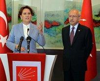 Millet İttifakı rotasını bulamıyor! İYİ Parti ve CHP'de derin çatlak