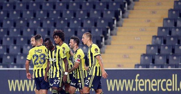 Fenerbahçe'den 4 gollü galibiyet!
