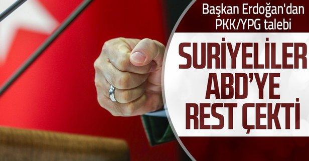 SMDK'nın Başkan Erdoğan'dan PKK/YPG talebi