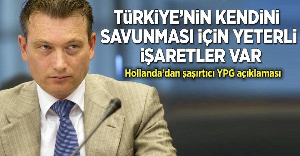 Hollandadan şaşırtan YPG açıklaması