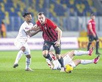 G.birliği&Antalyaspor birbirlerini üzmedi