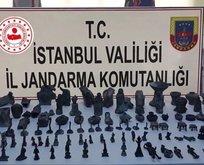 İstanbul'da dev operasyon! 'Tarihi' satacaklardı