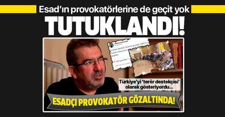 Esadçı provokatör Alptekin Dursunoğlu tutuklandı