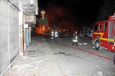 Gaziantep'te karakola bombalı saldırı