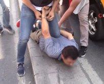 Taksicilere 'son durak' operasyonu polis kamerasında