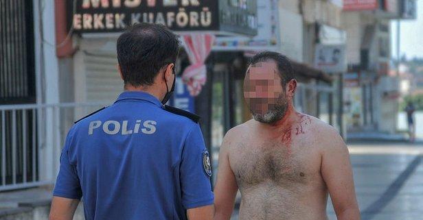 Evde başlayan tartışma sokakta bitti! Yer: Antalya