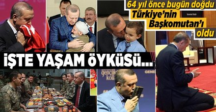 Dünden bugüne Recep Tayyip Erdoğan'ın yaşamı ve siyasi kariyeri