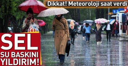 Meteoroloji açıkladı! İşte il il hava durumu (Hava durumu 11 Haziran)