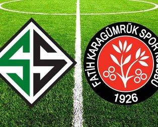 Sakaryaspor - Karagümrük maçı ne zaman?