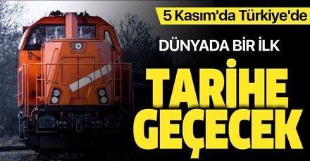 Tarihe geçecek tren China Railway Express yola çıktı! 5 Kasım'da Türkiye'de