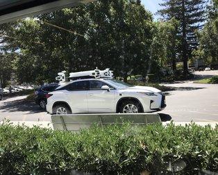 Appleın otonom araba teknolojisi ilk kez bu kadar yakından görüldü!