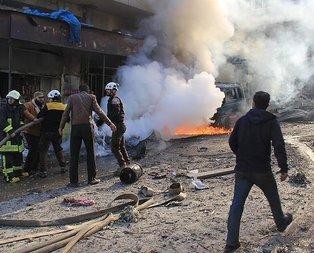 İdlibde pazar yerine hava saldırısı: 28 ölü