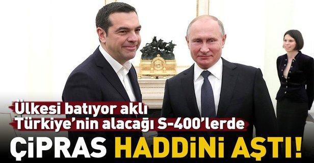 Çipras haddini aştı! Putin'e Türkiye şikayeti