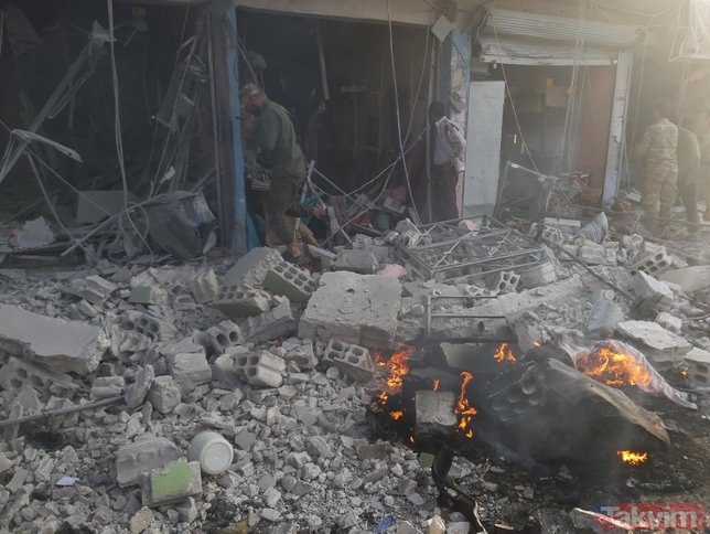 YPG/PKK'lı alçakların Tel Abyad'daki saldırısında ölenler arasında çocuklar da var