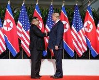 Trump ve Kim'den flaş açıklama