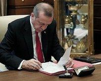 Başkan Erdoğan'dan kritik atamalar