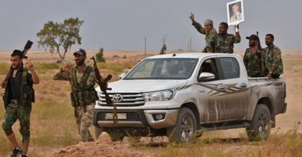 ABD'nin çekildi! Suriye ordusu Rakka'da