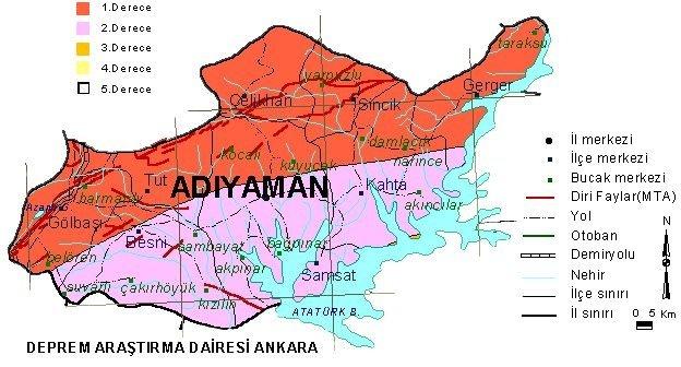 Türkiyenin Il Il Deprem Haritası Galeri Takvim