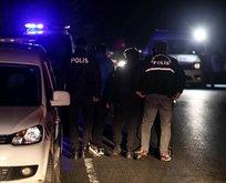Sarıyer'de dur ihtarına uymayan araç polise çarpıp kaçtı