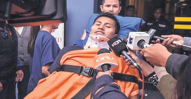 Erwin Tumiri Chapecoense'nin uçak kazasından sağ kurtulmuştu: Dün bir kazandan da kurtuldu