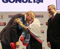 Meliha ninenin Başkan Erdoğan sevgisi